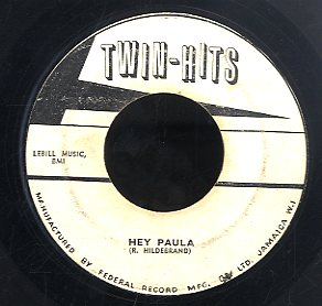 ROOF TOP SINGERS / PAUL & PAULA  [Walk Right In / Hey Paula]