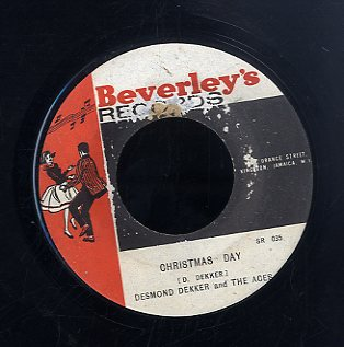 DESMOND DEKKER & THE ACES [I've Got The Blues / Christmas Day ]