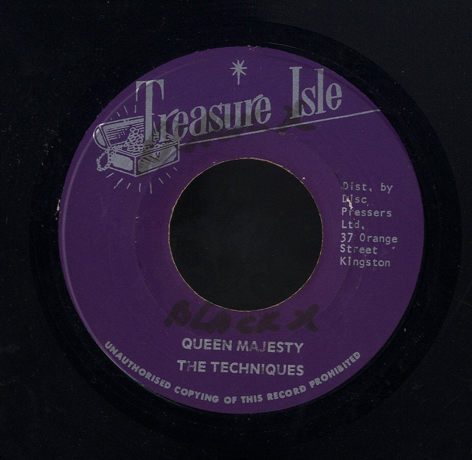 TECHNIQUES [Queen Majesty / Little Did You Know]