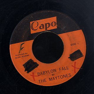 THE MAYTONES [Babylon Fall / Rasta Buggy]