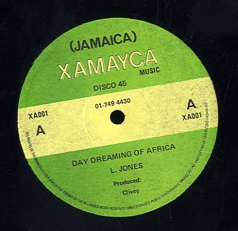 L. JONES / MAXIE [Daydreaming Of Africa / Some African]
