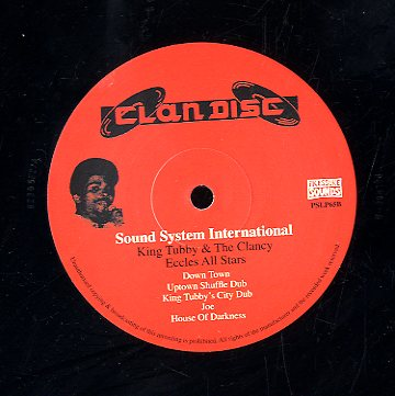 KING TUBBYS & THE CLANCY [Sound System International Dub Lp]