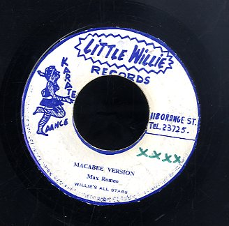MAX ROMEO / WILLIE FRANCIS  [Macabee Version / Burn Them ]