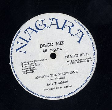 TONY TUFF / JAH THOMAS [Ease Up Oppressors / Answer The Telephone]