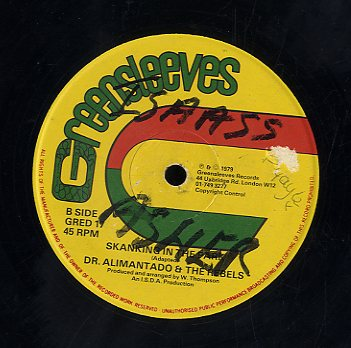 DR ALIMANTADO [Sitting In The Park / Skanking In The Park]
