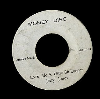 FREDDIE MCKAY & PRINCE JUNIOR / JERRY JONES  [Picture On The Wall Ver 3 / Love Me A Little Bit Longer ]