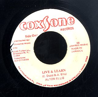 ALTON ELLIS [Live & Learn]