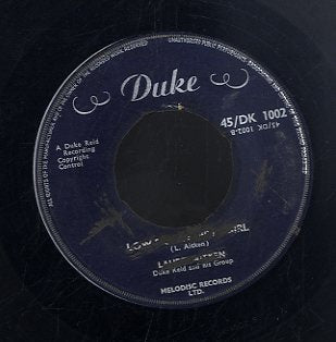 LAUREL AITKEN / DUKE RIED ALLSTARS [Low Down Dirty Girl / Pink Lane Shuffle]