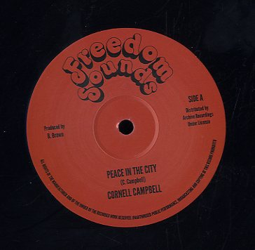 CORNELL CAMPBELL [Peace In The City]