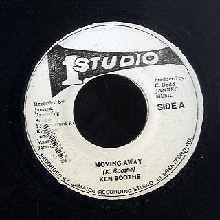 KEN BOOTHE / SKATALITES [Moving Away / Street Of Gold ]