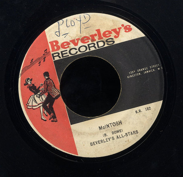 THE MELODIANS / BEVERLEY'S ALL STARS [The Time Has Come / Mcintosh ]