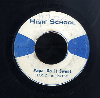 THE PEACHES / LLOYD & PATSY  [After Mid -Night / Papa Do It Sweet ]