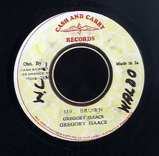 GREGORY ISAACS [Mr. Brown]