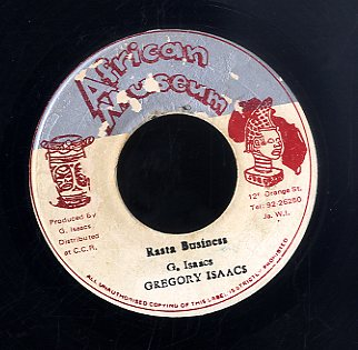 GREGORY ISAACS [Rasta Bussines]