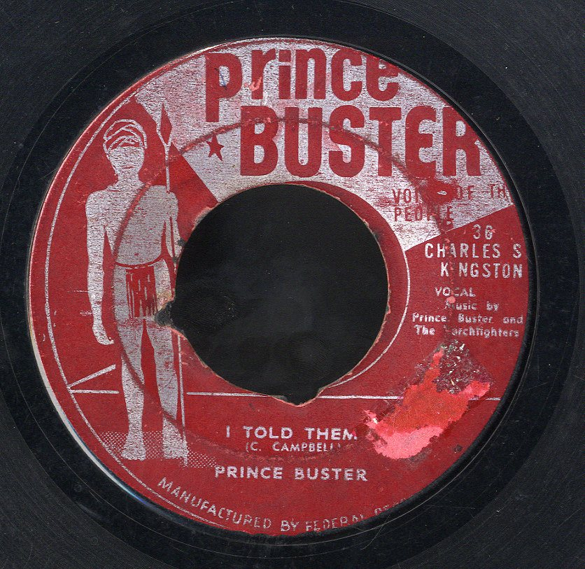 PRINCE BUSTER / PRINCE BUSTER [I Told Them / Think Life Over (Over & Over)]