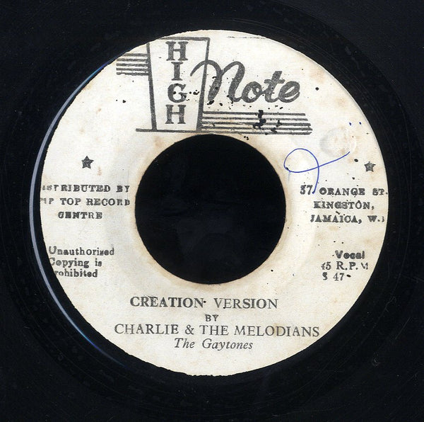 CHARLIE & THE MELODIANS [Creation Version]
