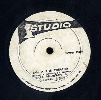 PAPA MICHIGAN & GENERAL SMILIE / BRENTFORD ALL STARS & REUBEN ALEXANDER [Jah A The Creator / What A Fire]