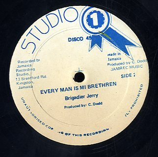 BRIGADIER JERRY /PETER BROOGS  [Every Man Is Mi Brethren  /Sing A New Song ]