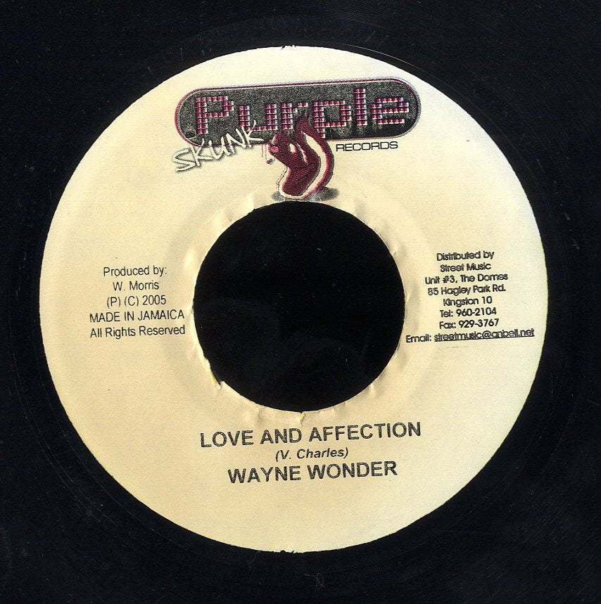WAYNE WONDER [Love And Affection]