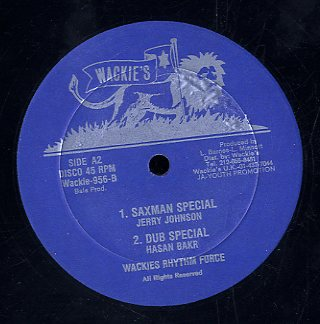 SUGAR MINOTT/ JERRY JOHNSON [Hi Hello/ Saxman Special]