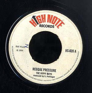 HIPPY BOYS [Reggae Pressure / It Hurts ]