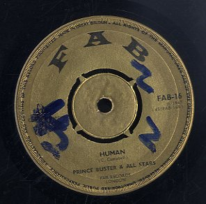PRINCE BUSTER [Human / Bye Bye Baby]