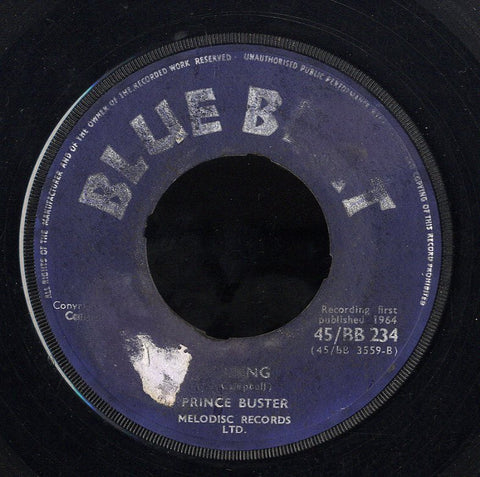 PRINCE BUSTER [Healing / She Loves You]