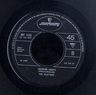THE PLATTERS [Smoke Gets In Your Eyes / Harbor Lights]