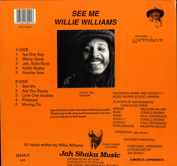 WILLIE WILLIAMS [See Me]