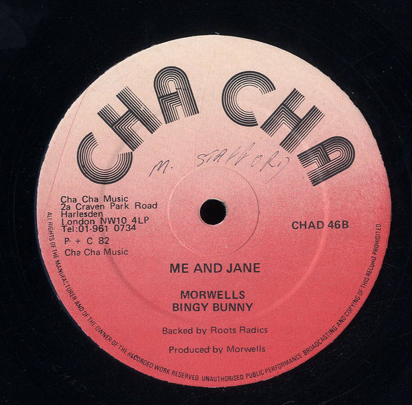 BINGY BUNNY [Me And Jane / Keep In The Family]