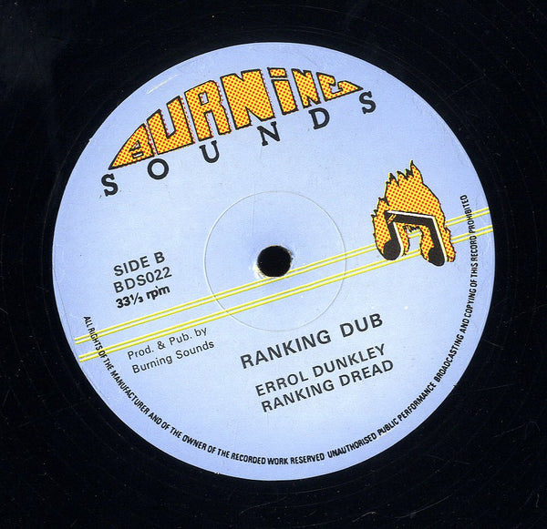 ERROL DUNKLEY & RANKING DREAD [Holding On]