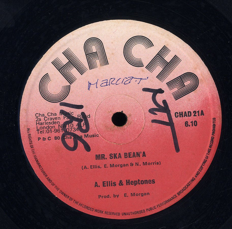 ALTON ELLIS & HEPTONES [Mr. Ska Bean'a /Ain't No Music ]