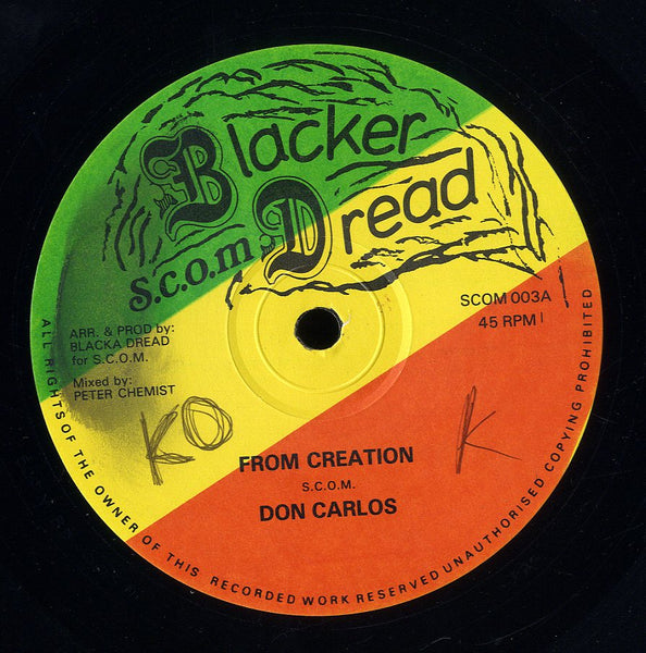 DON CALROS [From Creation]