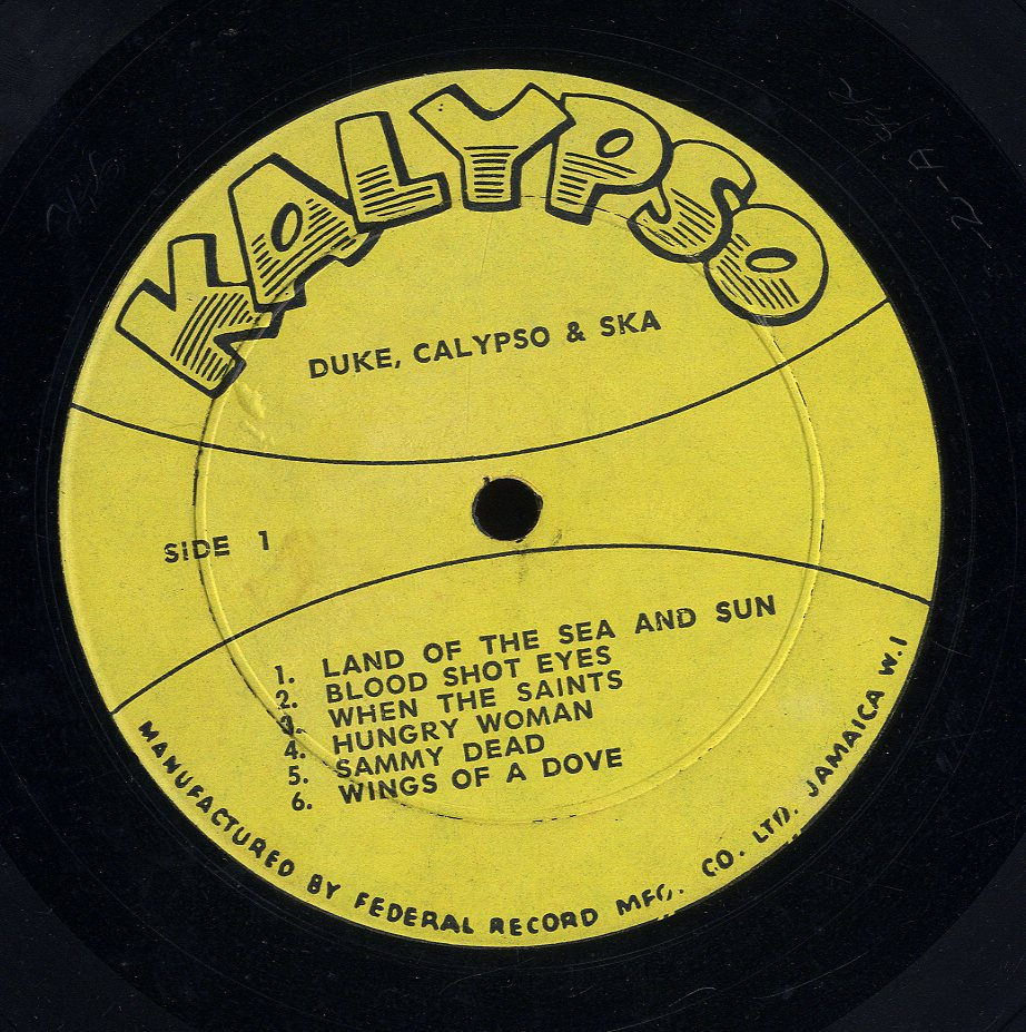DUKE AND HIS JAMAICA FIVE [Duke Calypso And Ska]