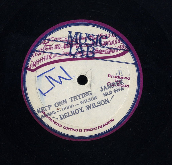 WINSTON FRANCIS / DELROY WILSON [Quiet Place / Keep On Trying]