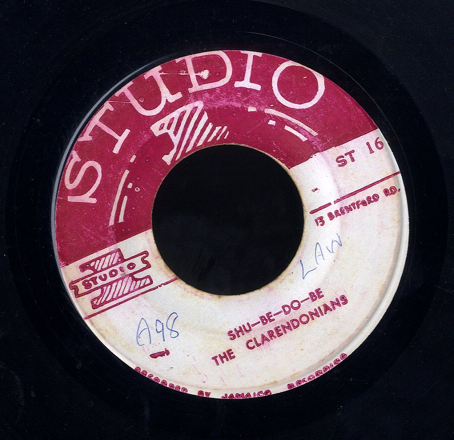 THE CLARENDONIANS / ALTON ELLIS [Shu Be Do Be / Sweet Heart Of Beauty]