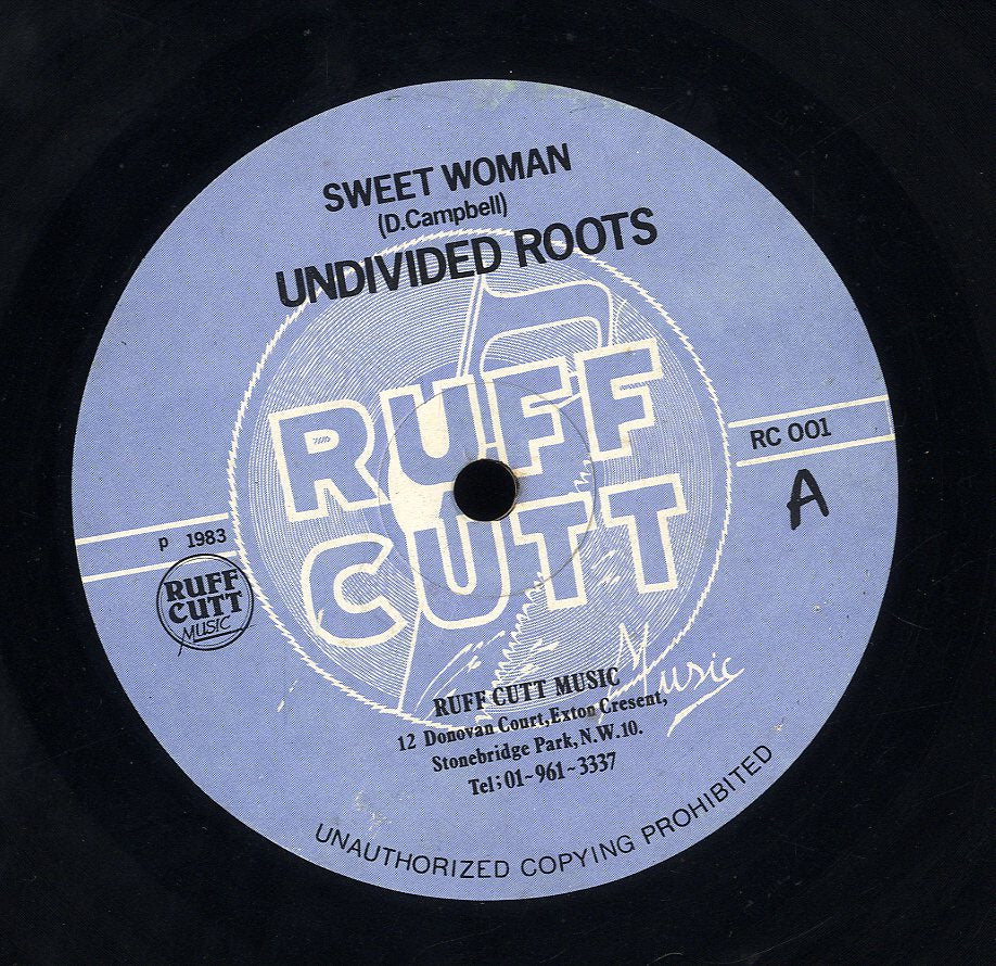 UNDIVIDED ROOTS / ARDY MURPHY [Sweet Woman / In A Me]