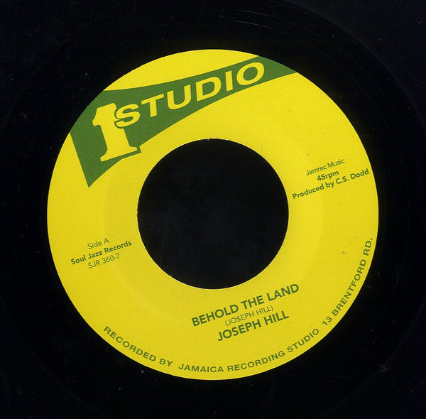 JOSEPH HILL / TOMMY MCCOOK & THE SKATALITES [Behold The Land  / Full Dread]
