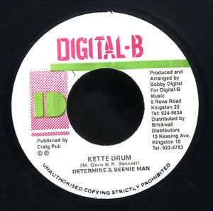 DETERMINE & BEENIE MAN  [Kette Drum]