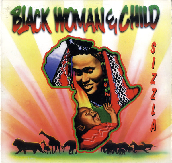 SIZZLA [Black Woman And Child]