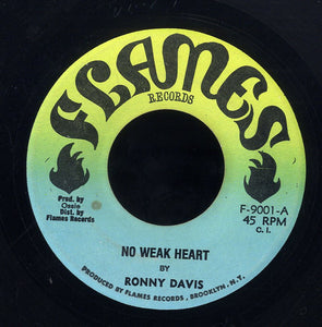 RONNIE DAVIS [No Weak Heart]