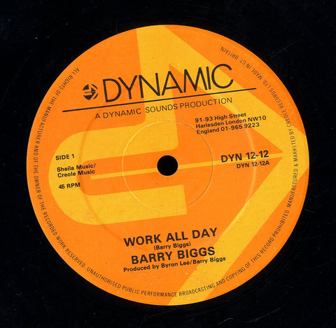 BARRY BIGGS [Work All Day / I Like To Sing]