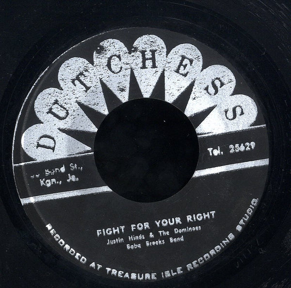 JUSTIN HINDS & THE DOMINOS [The Higher The Monkey Climbs / Fight For Your Rights]