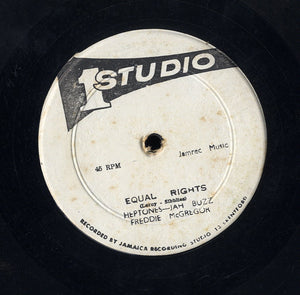 HEPTONES - JAH BUZZ - FREDDY MCREGOR / ROLAND ALPHONSO -  [Equal Rights / Death In The Areana]
