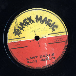 THE MIGHTY DIAMONDS [Last Dance( Last Waltz) / Lucky]
