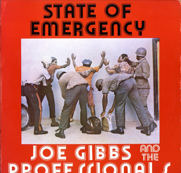 JOE GIBBS & PROFESSIONALS [State Of Emergency]