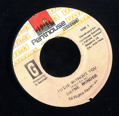 WAYNE WONDER [I'd Die Without You]