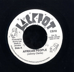 JOHNNY CLARKE [African People]