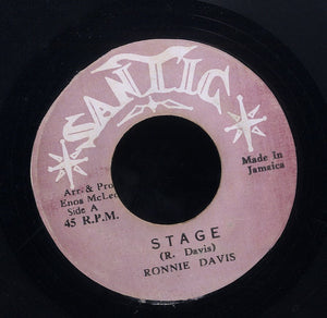 RONNIE DAVIS [The Stage]