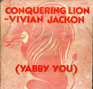 YABBY- U [Conquering Lion]